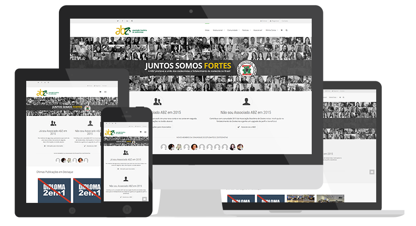 Novo site ABZ