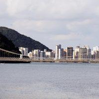 Ponte Pensil em São Vicente/SP