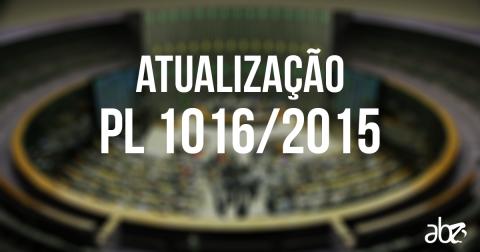 PL 1016/15 precisa de apoio político para voltar a avançar