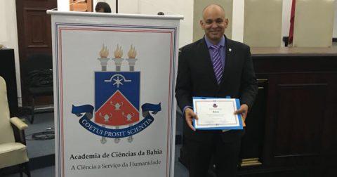 Zootecnista toma posse como novo membro da Academia de Ciências da Bahia