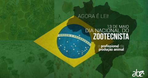 Agora é lei: 13 de maio passa a ser reconhecido pelo governo como Dia do Zootecnista