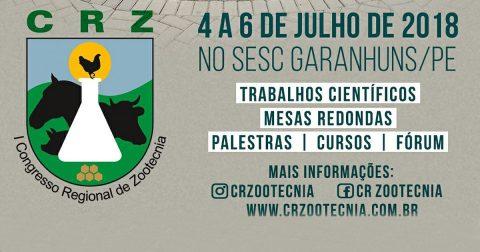 Pernambuco receberá 1º Congresso Regional de Zootecnia