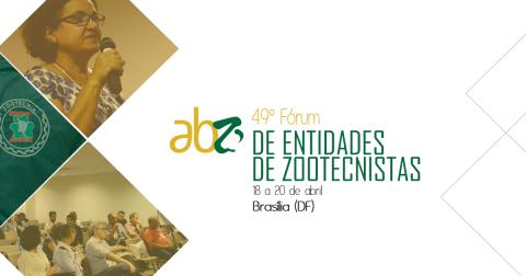 Convocação: 49º Fórum Nacional de Entidades de Zootecnistas