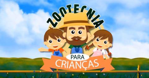 Animação em vídeo voltada para crianças explica o que é a Zootecnia