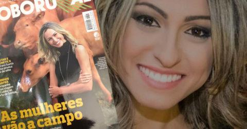 Zootecnista é destaque na capa da Revista Globo Rural