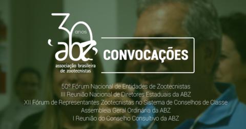 Zootecnia Brasil: ABZ lança editais de convocação para cinco eventos institucionais
