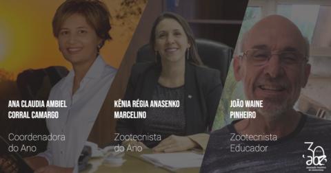 Divulgados os vencedores dos prêmios da ABZ de 2018