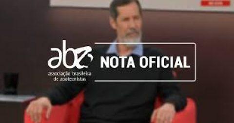 Nota pública da ABZ sobre opinião de Eduardo Jorge na GloboNews