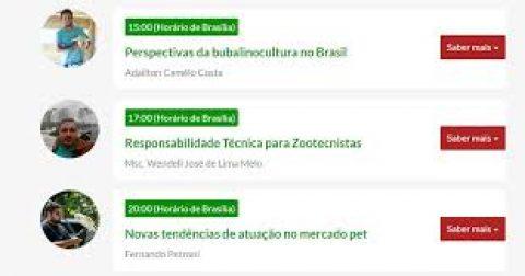 Congresso Online de Zootecnia segue até o próximo domingo (23)