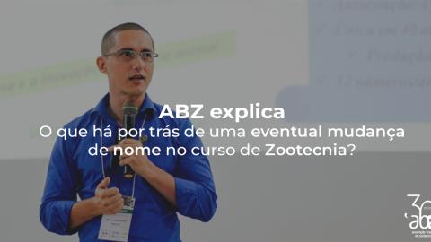 ABZ explica: o que há por trás de uma eventual mudança de nome no curso?