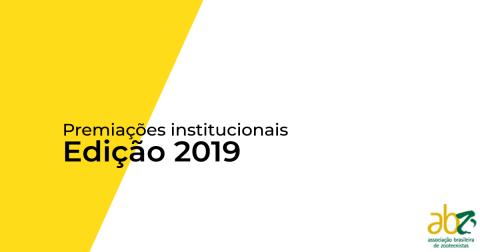 Inscrições abertas para prêmios institucionais da ABZ