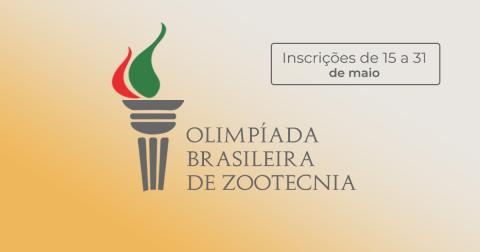 Inscrições para Olimpíada Brasileira de Zootecnia começam no próximo dia 15