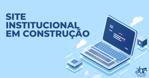 Nota ABZ: site institucional em construção