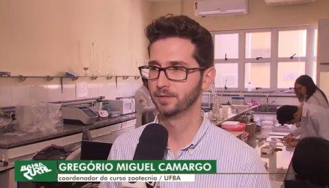Pesquisas em Zootecnia na UFBA são destaque em programa dominical da Globo na Bahia