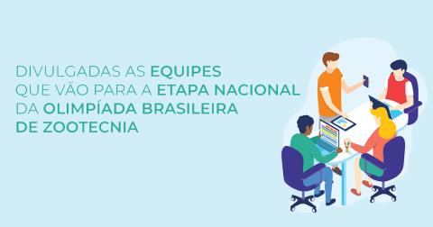 Oito equipes avançam para a etapa nacional da Olimpíada Brasileira de Zootecnia