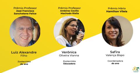Divulgados os vencedores dos prêmios institucionais da ABZ de 2019