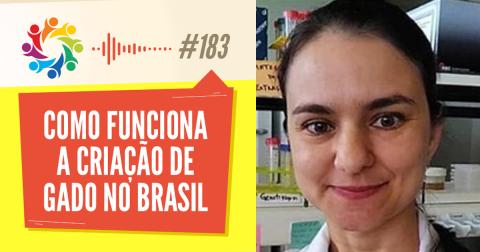 Em podcast, zootecnista desmistifica assuntos que envolvem a criação de gado no Brasil