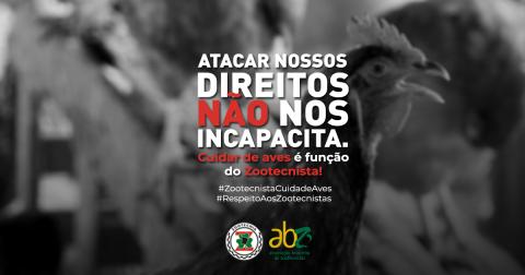 ABZ convoca zootecnistas que atuam na avicultura a publicarem depoimentos sobre a área